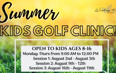 Summer Kids Golf Clinic